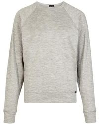 Tom Ford Sweatshirt aus Kaschmir - Grau