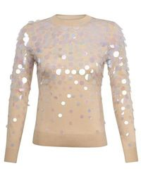 Paco Rabanne Sweater - Natural