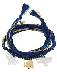 Aurelie Bidermann - Honolulu Bracelet - Lyst