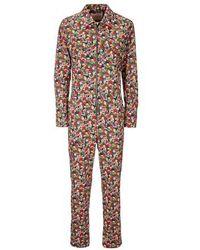 La DoubleJ Farrah Fawcett Jumpsuit - Multicolour