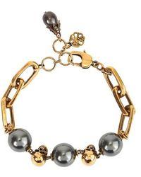 Alexander McQueen - Bracelet en perle - Lyst