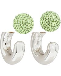 """Marc Jacobs The Bubbly"""" Small Hoop Earrings"""" - Metallic"""