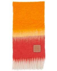 Loewe Mohair Stripe Scarf - Multicolor