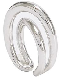 Charlotte Chesnais Initial Ring - Metallic
