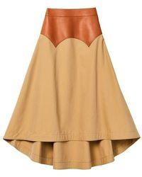 Loewe Obi Long Skirt - Multicolour