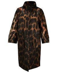 Ganni Thermoplastic Raincoat - Black