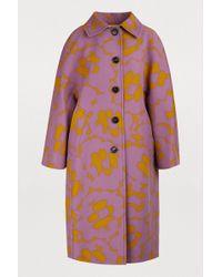 Marni - Oversized Mid-length Coat - Lyst