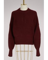 Isabel Marant - Cotton And Wool Lonnyl Jumper - Lyst