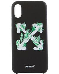Off-White c/o Virgil Abloh Iphone Xs Case - Black