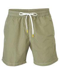 Hartford Plain Swim Shorts - Green