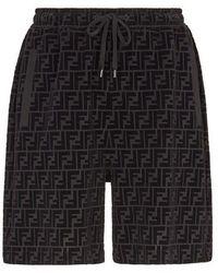 Fendi - Piqué Trousers - Lyst