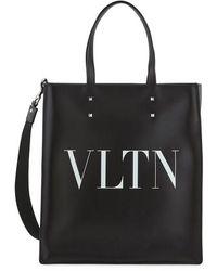 Valentino Valentino Garavani Vltn Tote Bag - Black