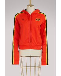 PUMA - Fitted Tracksuit Jacket - Lyst