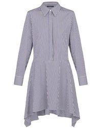 Louis Vuitton Panel Dress - Purple