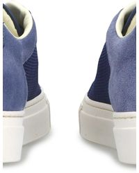 Common Projects Sneakers Retro Summer Edition - Blau