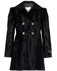 Patou Double Breasted Jacket - Black