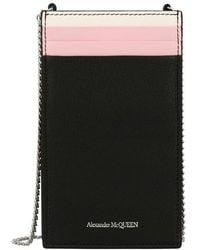 Alexander McQueen Pochette de téléphone - Noir