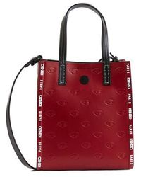 KENZO Blink Multi-eye Small Tote - Red