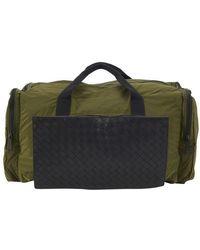 Bottega Veneta Intrecciato Packable Sports Bag - Black