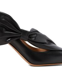 Valentino Knot Pumps - Black