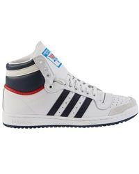 adidas Originals Sneakers Top Ten - Bleu