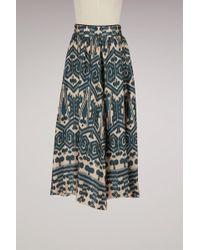 Forte Forte - Ikat Print Silk Skirt - Lyst