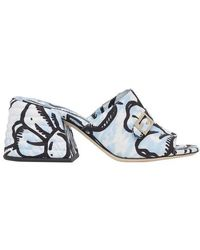 Fendi Slides - Blue