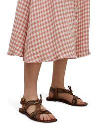 Zimmermann Buckle Sandals - Multicolour