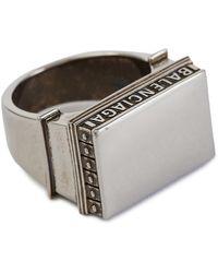 Balenciaga Paris Arch Ring - Metallic