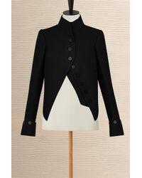 Louis Vuitton Short Officer Jacket - Black