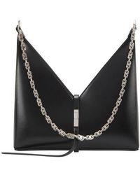 Givenchy Cut Out Handbag - Black
