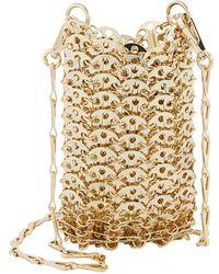 Paco Rabanne Mini 1969 Chainmail Shoulder Bag - Metallic