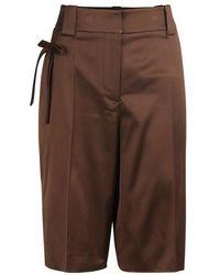 Prada Bermuda Shorts - Brown