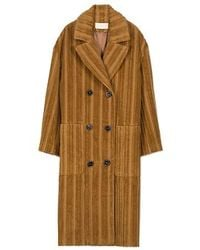 Vanessa Bruno Corduroy Pau Coat - Multicolor