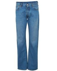 Maison Margiela Jean 5 poches - Bleu