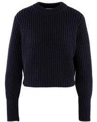 Roseanna Round-neck Sweatshirt - Blue