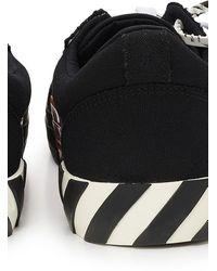 Off-White c/o Virgil Abloh Vulkanisierte Sneakers - Schwarz