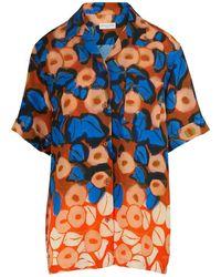 Dries Van Noten Printed Shirt - Orange