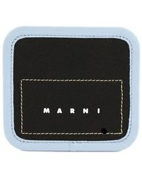 Marni Jekyll Neck Strap Wallet - Black