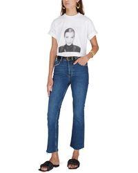 Anine Bing T-shirt Ida AB x To Kate Moss - Blanc