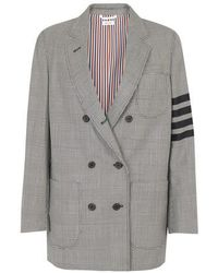 Thom Browne 4-bar Jacket - Gray
