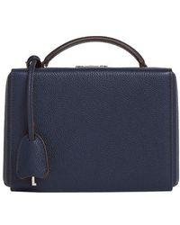 Mark Cross Petit sac boîte Grace - Bleu