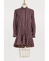 Étoile Isabel Marant - Ondria Cotton Dress - Lyst
