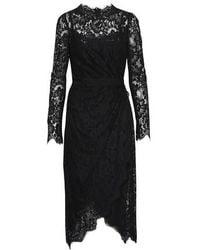 Dolce & Gabbana Lace Dress - Schwarz