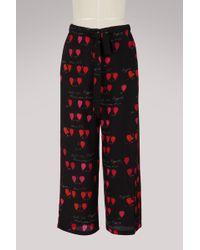 Alexander McQueen - Silk Pyjama Pants - Lyst