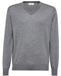 Brunello Cucinelli Cashmere And Silk Sweater - Multicolour