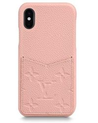 Louis Vuitton Iphone X/xs Bumper - Pink