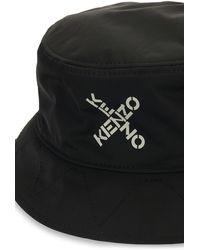 KENZO Reversible Bucket Hat - Black