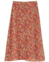 Vanessa Bruno Rana Skirt - Multicolour