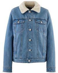 A.P.C. Arlette Jacket - Blue